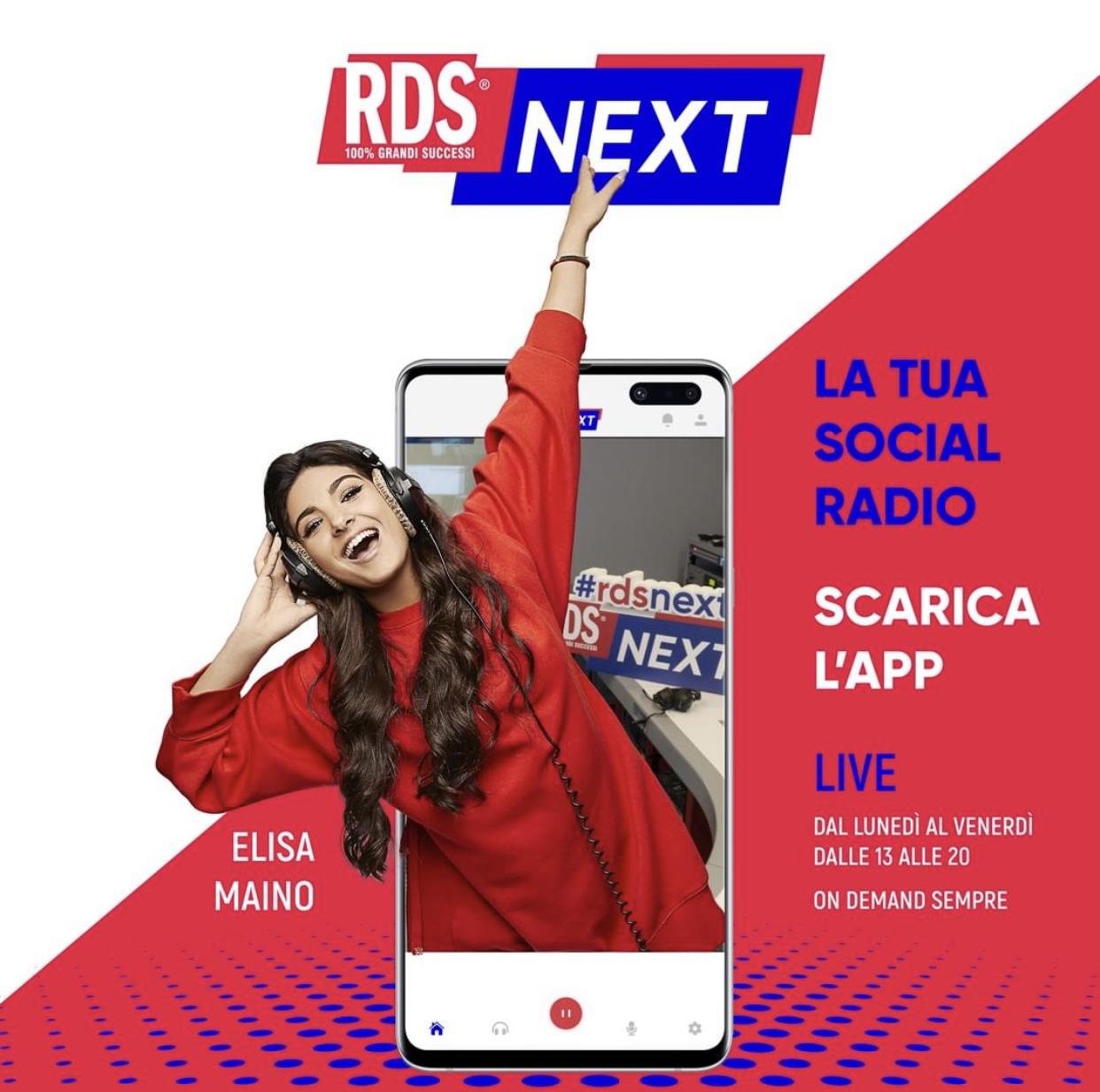 RDS NEXT - ELISA MAINO